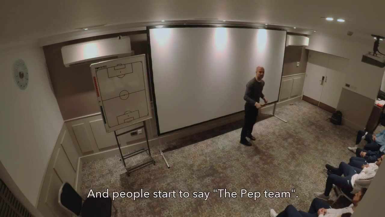 Pep Guardiola - Team Culture Story — Keepitonthedeck