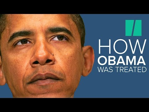 History Won't Forget How Barack Obama Was Treated