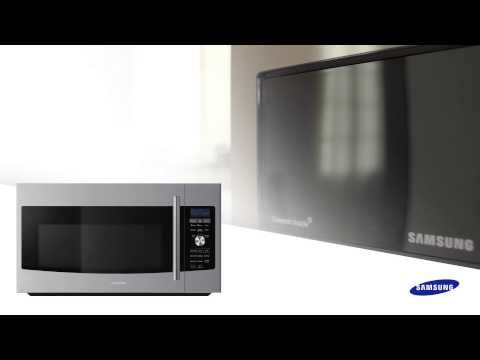 One Touch Clean Filter Microwave By Samsung