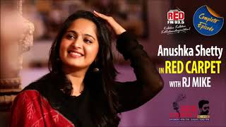Anushka Shetty with RJ Mike in Red FM Red Carpet  | Bhaagamathie | Unni Mukundan | Complete Episode