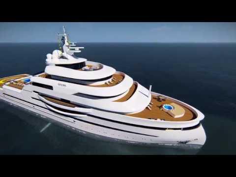 Exploris Superyacht Concept for Global Exploration