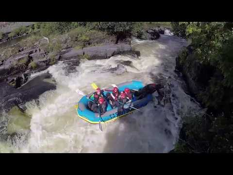 Whitewater Rafting in North Wales, Llangollen, UK
