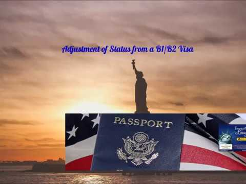 Adjustment Of Status From B1 B2 Visa