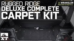 Jeep Wrangler Rugged Ridge Deluxe Complete Carpet Kit (1997-2006 TJ) Review & Install