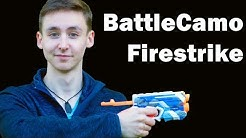 Nerf Firestrike Battlecamo, Unboxing Review & Test | MagicBiber [deutsch]