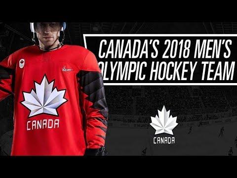 Canada's Men 2018 Olympic Hockey Roster!