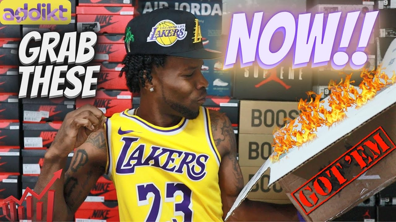 BUY THESE NOW!! UNBOXING LIMITED SNEAKERS THAT WILL SKYROCKET!!