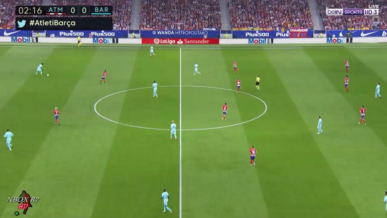 #الجولة_8 مباراة برشلونة vs اتلتيكو مدريد تعليق روؤف خليف الدوري الاسباني14-10-2017-HD
