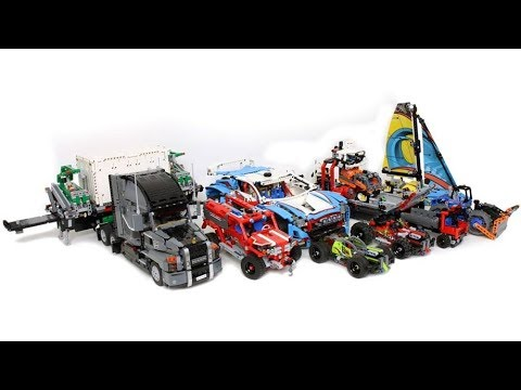 lego technic 2018 sets official images youtube. Black Bedroom Furniture Sets. Home Design Ideas