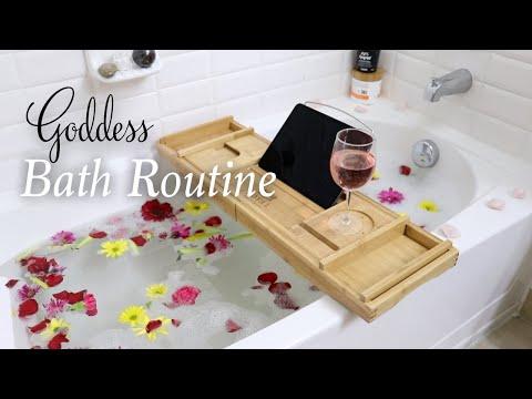 My Goddess Bath Routine  Self Care + Spiritual Healing Tips