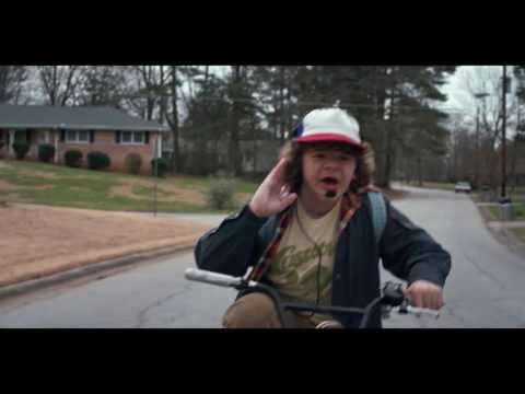 Stranger Things Bike Chase ( Escape/Chase/Saying Goodbye - John Williams - From E.T.)