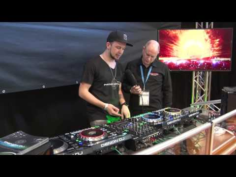 Musikmesse 2017 DENON DJ SC5000 Prime Player X1800 Mixer (english)