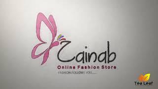 Zaianab Store|Online Fashion Store|Logo Reveal