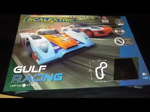 Scalextric Gulf Racing Set C1384 (2018)