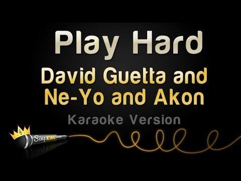 David Guetta and Ne-Yo and Akon - Play Hard (Karaoke Version)