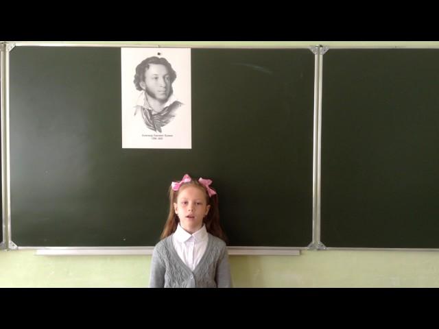 Изображение предпросмотра прочтения – ВиолеттаВоронкова читает произведение «Зимнее утро» А.С.Пушкина