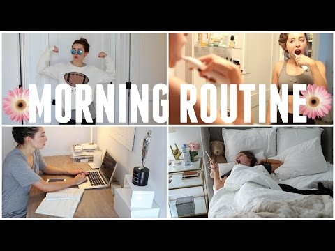 MY MORNING ROUTINE! WINTER 2016!