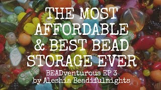 The Most Affordable & Best Bead Storage Ever BEADventurous EP 3