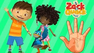 ZACk & QUACK Finger Family Nursery Rhymes | My Finger Family  Rhymes