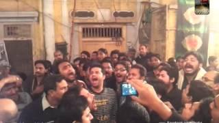 Ansar Party Nohay - 27 Muharram Anarkali 1435 - Ziarat e Zuljanah - Part 3/3