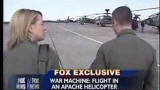 Jamie Colby Flies in an Apache - Dec 17, 2006