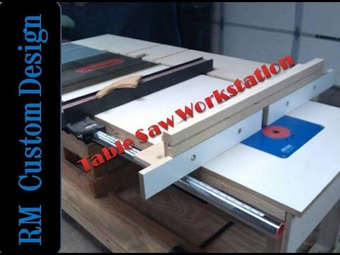 Building my Table Saw Workstation