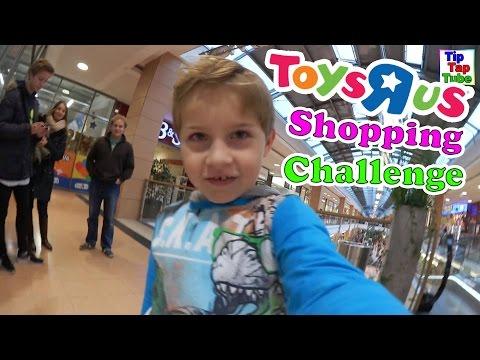 Toys R Us Shopping Challenge TipTapTube Vlog