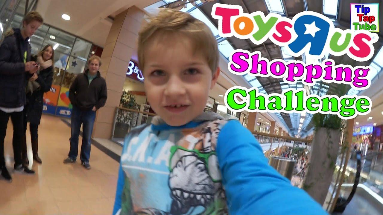 Toys R Us Shopping Challenge TipTapTube Vlog - YouTube