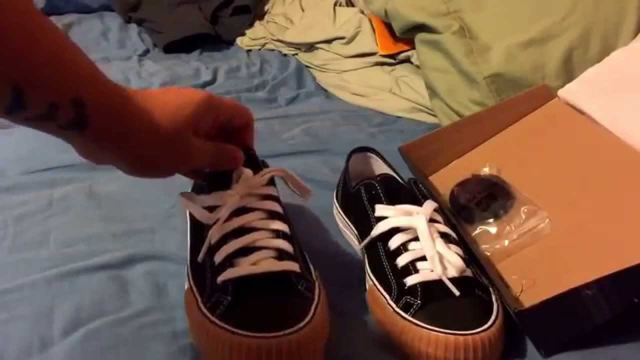 7bd0c0a426 PF Flyers Black Center Lo Retro Style Unboxing   On Feet - YouTube