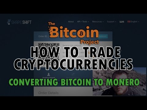 Convert Bitcoin To Monero Using Shapeshift - How To Trade Cryptocurrencies