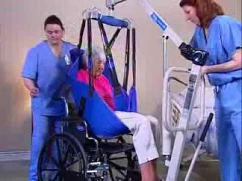 Hydraulic Lifts Wheelchair To Bed Youtube