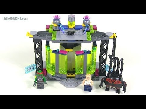 LEGO TMNT 79119 Mutation Chamber Unleashed set review!
