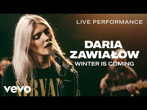 Daria Zawialow - Winter Is Coming - Live Performance | Vevo