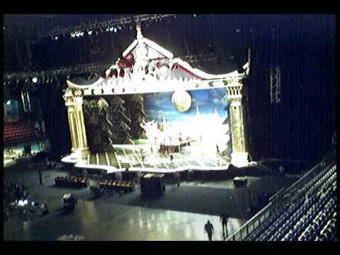 Stage set up,, Miss Universe 2005. Thailand.