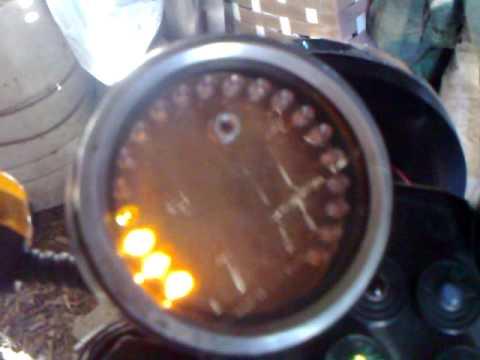 светодиодный тахометр на Ява