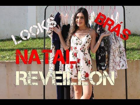 LOOKS NATAL E RÉVEILLON SHOPPING TOTAL BRÁS - OZZO FASHION!