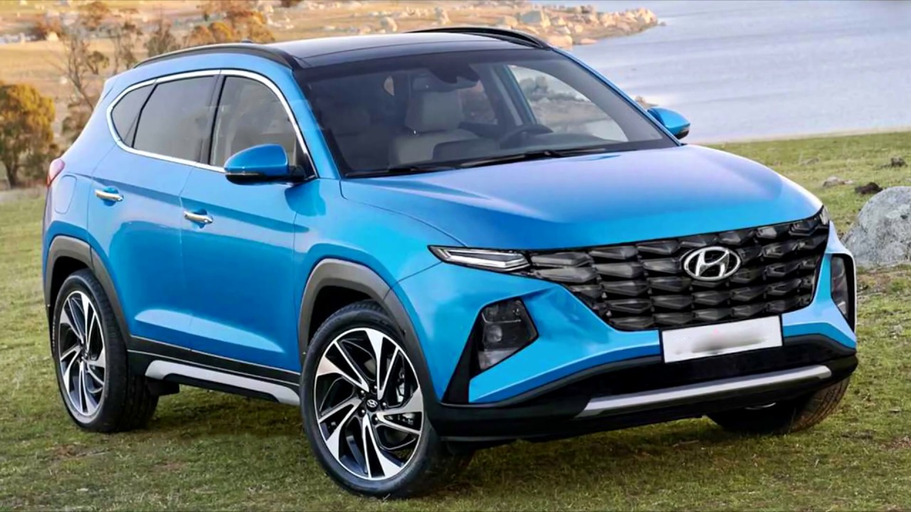 2021 Hyundai Tucson Rendered With Polarizing Design !