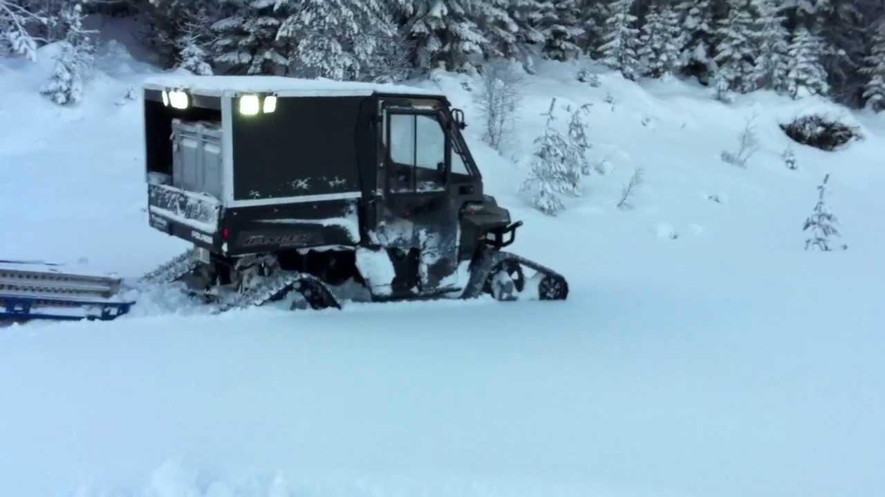 Can-Am Outlander 6X6 1000 XT Farmer package Sweden by