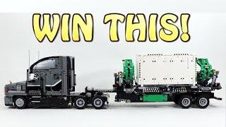 Giveaway! LEGO Technic Mack Anthem Truck 42078
