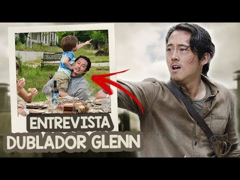THE WALKING DEAD: O Glenn VAI VOLTAR? - Entrevista com o DUBLADOR do Glenn (Robson Kumode)