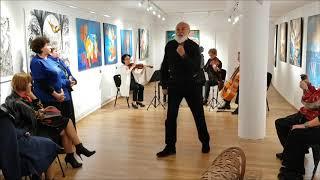 Poetul Adrian Munteanu și Gaudeamus Quartet