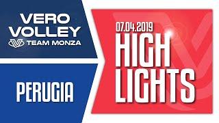 Highlights Vero Volley Monza vs Sir Safety Conad Perugia QF Gara 2