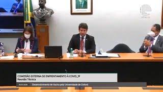 Câmara no combate ao coronavírus - Junho 2020 - Vacina contra Covid-19 é tema de audiência na Comissão de Enfrentamento à doença - 01/07/20 - 09:36