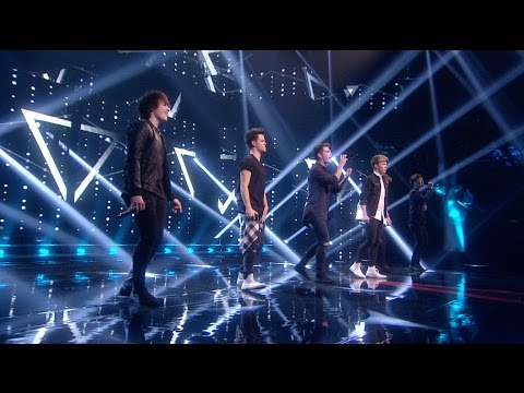 Hometown 'Cry For Help' live on The Voice of Ireland