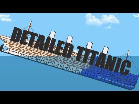 Detailed Titanic! | Floating Sandbox