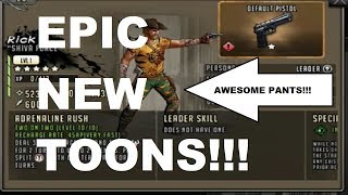 Walking Dead : Road to Survival - AWESOME NEW CHARACTERS - SHIVA FORCE!!