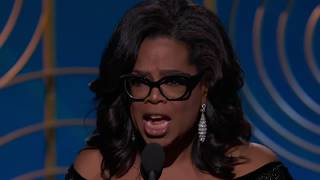 Oprah Winfrey Receives the Cecil B. deMille Award - Golden Globes 2018
