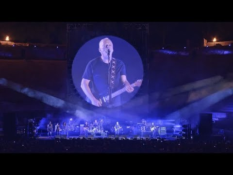 David Gilmour Shine On You Crazy Diamond   Pompeii 2016