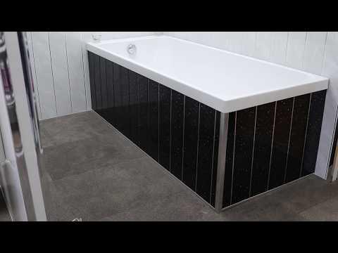 How To Fit Bathroom Cladding Around A Bath