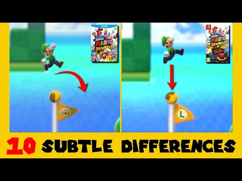 Download 10 Subtle Differences between Super Mario 3D World for Switch and Wii U (Part 4)